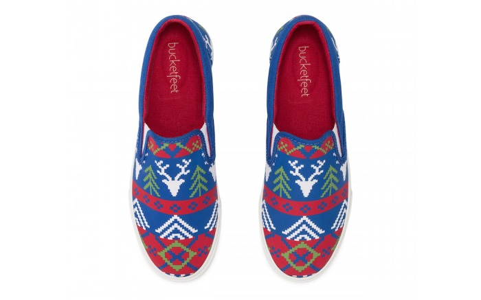 Bucketfeet Holiday Sneaker Collection 2015