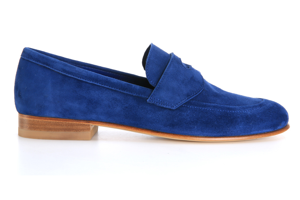 CB made in italy suede loafer