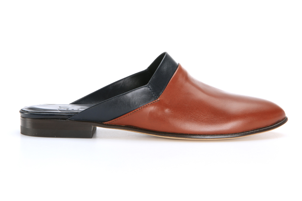 CB made in italy mule loafer