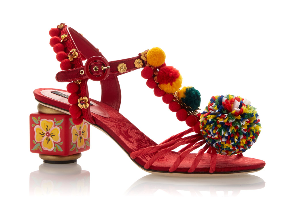 Dolce & Gabbana Spring '16 Shoes