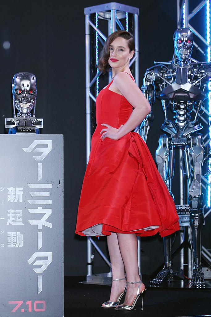 Emilia Clarke Terminator Genisys Shoes