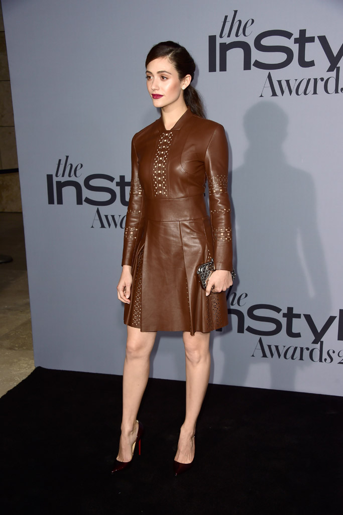 Emmy Rossum Celebrity Statement Shoes Fall 2015