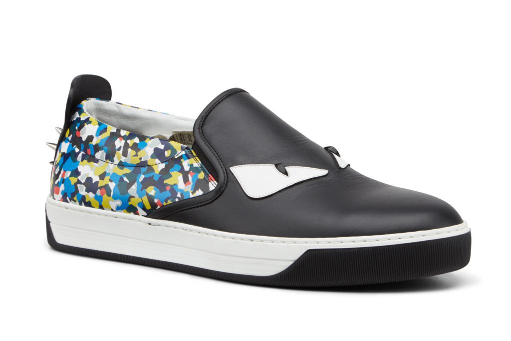 fendi slip-on sneakers