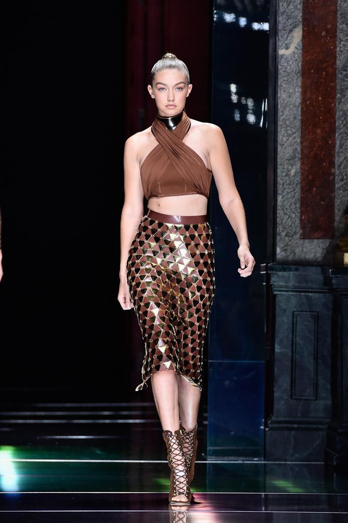Gigi Hadid Spring 2016 Fashion Week