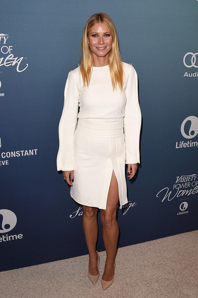 Gwyneth Paltrow Variety Power of Women 2015 Red Carpet
