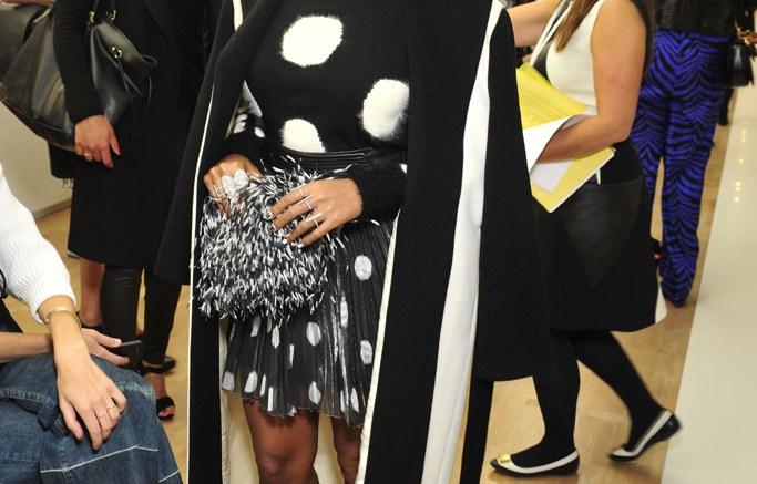 Emanuel Ungaro Paris Fashion Week Front Row