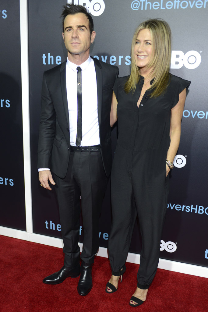 Jennifer Aniston Justin Theroux The Leftovers Premiere