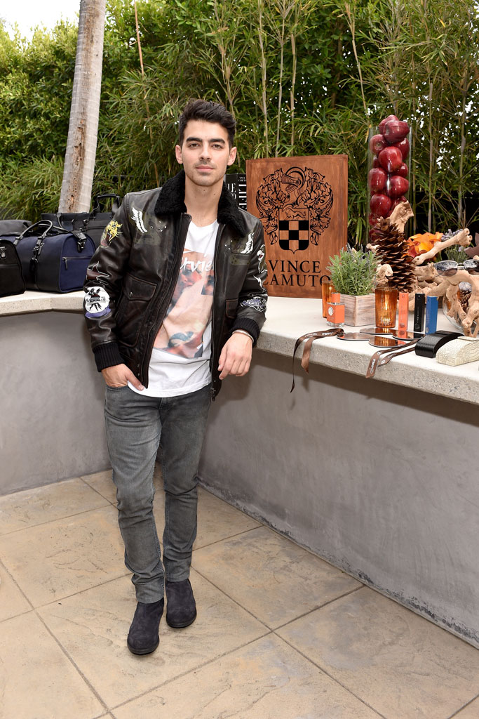 Joe Jonas Vince Camuto