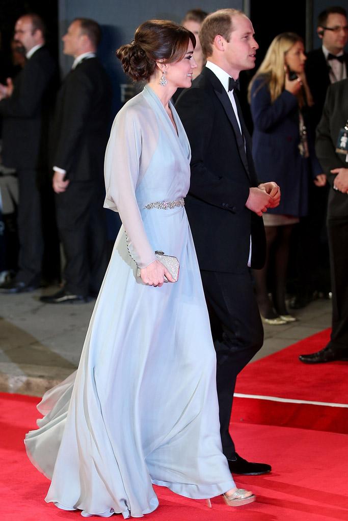 Kate Middleton James Bond Spectre London Movie Premiere