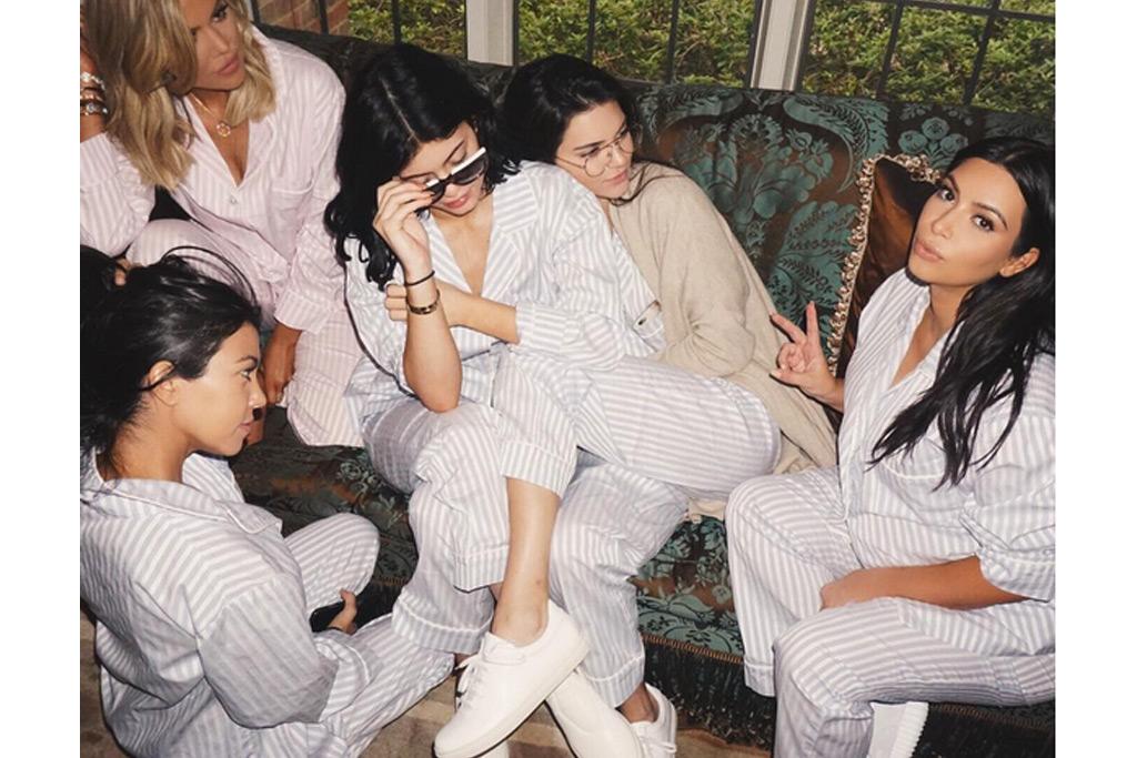 Kim Kardashian West Opts For Yeezys