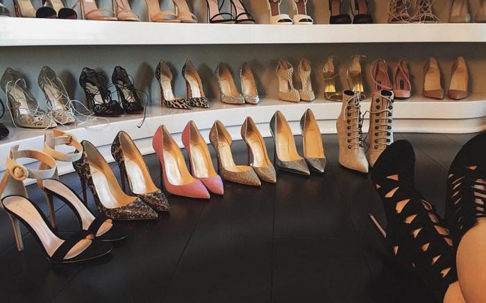 Kylie Jenner Shoes Closet