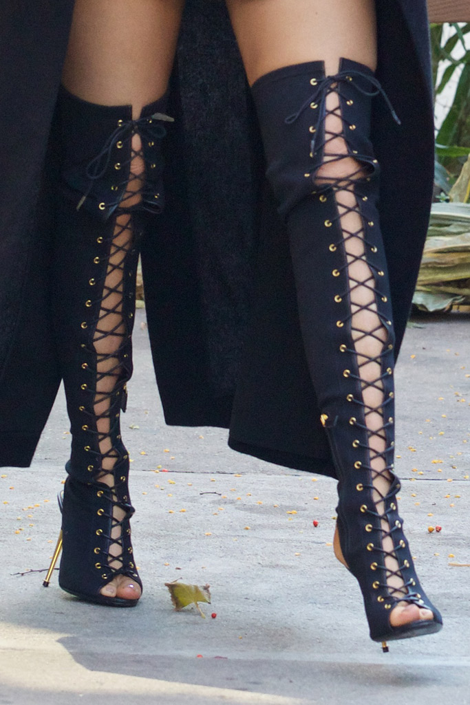 Kylie Jenner NYC Tom Ford Boots