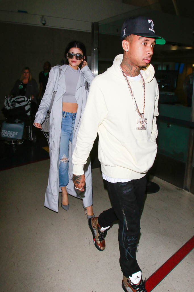 Kylie Jenner & Tyga Shoes Style