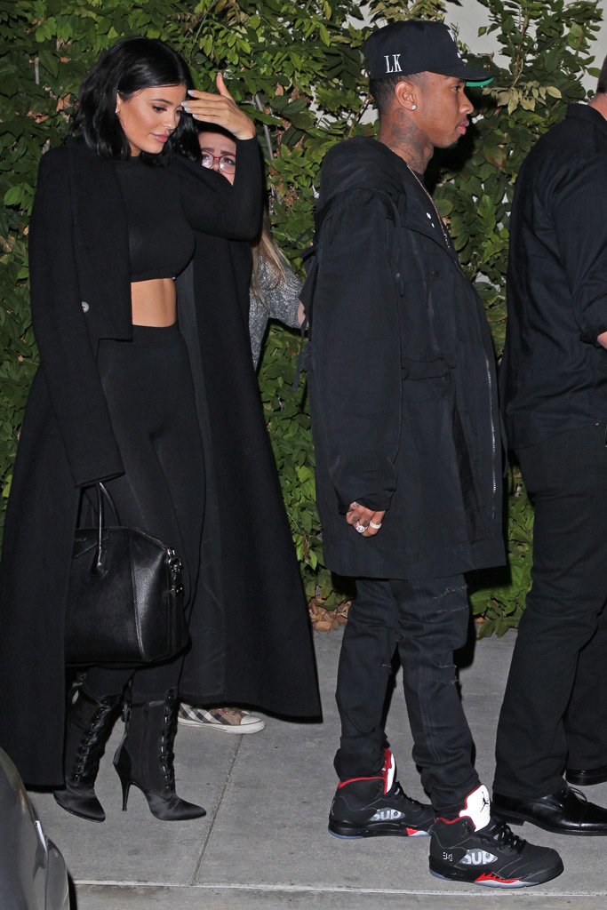 Kylie Jenner Tyga Sneakers