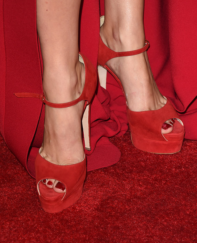 Lady Gaga American Horror Story Hotel Brian Atwood Shoes