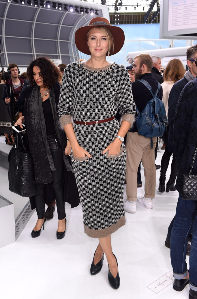 Chanel Paris Fashion Week Front Row