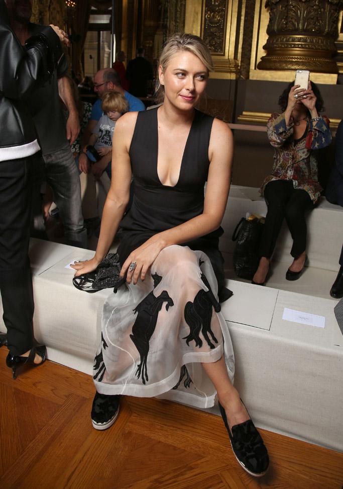 Stella McCartney Paris Fashion Week Front Row
