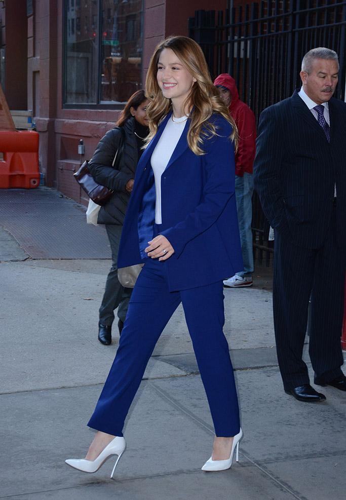 Melissa Benoist Supergirl Shoes