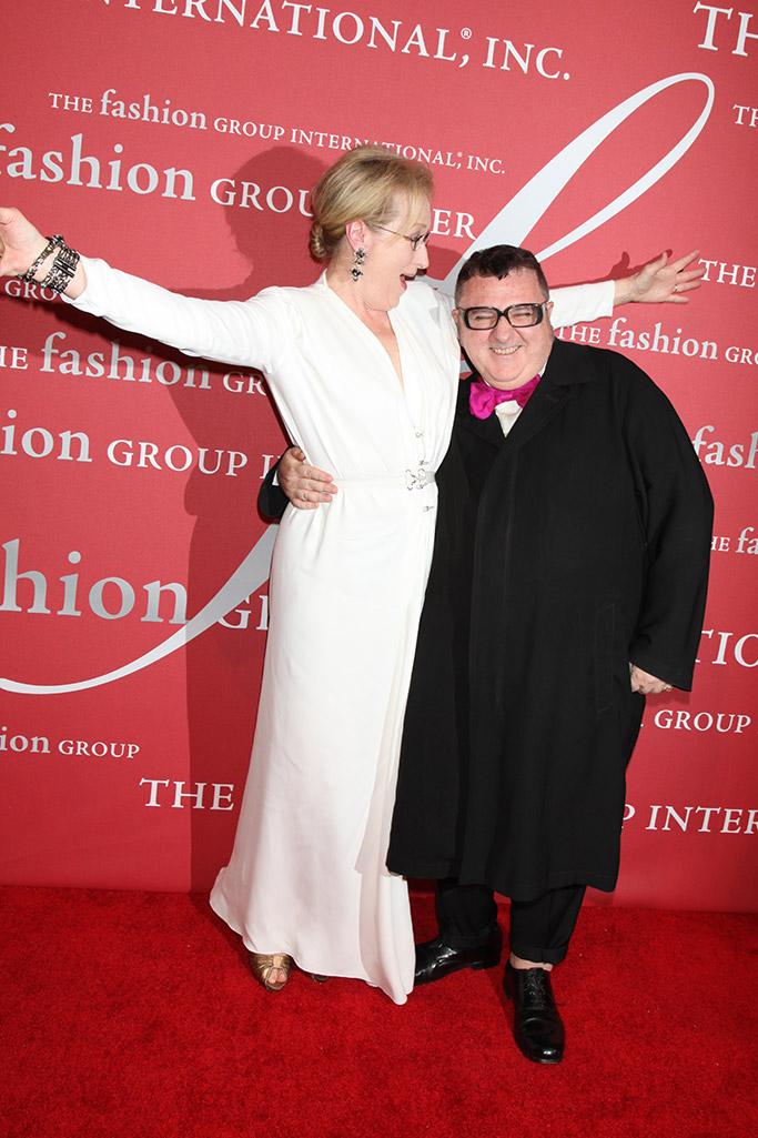 Meryl Streep Alber Elbaz FGI Night of Stars