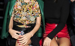 Louis Vuitton Paris Fashion Week Front Row