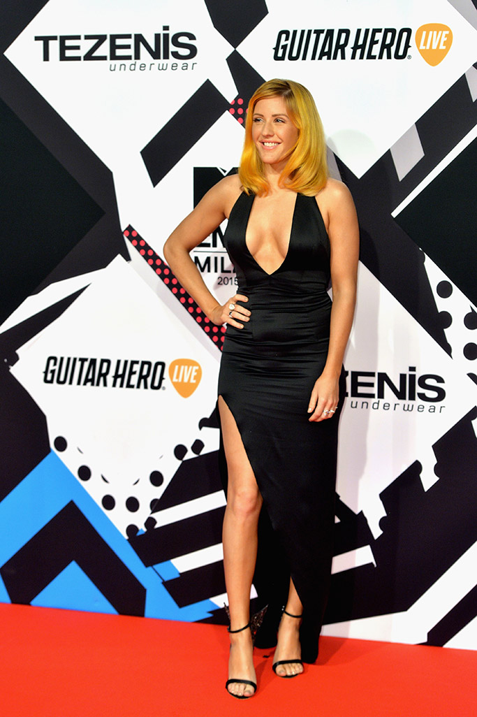 Ellie Goulding MTV EMAs 2015 Red Carpet
