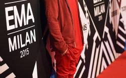 Justin Bieber MTV EMAs 2015 Red