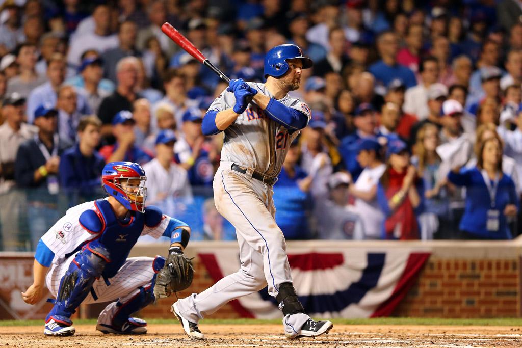 Lucas Duda Under Armour New York Mets
