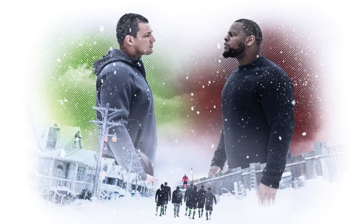 Nike Snow Day Commercial Rob Gronkowski Ndamukong Suh
