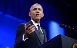 President Obama Yeezy Boost 350s