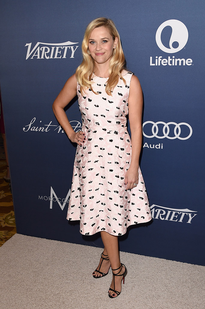 Reese Witherspoon Variety Power of Women 2015 Red Carpet