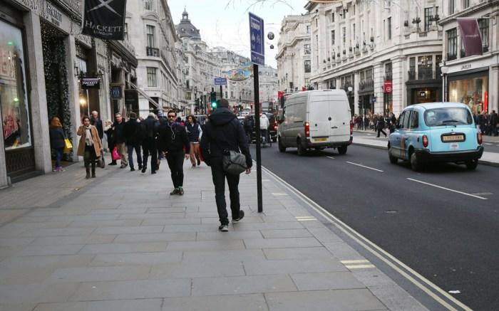 Regent Street London Coach Stuart Weitzman