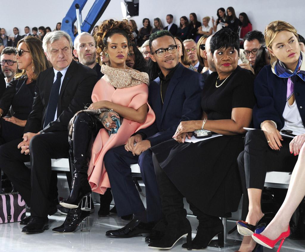 Dior Paris Fashion Week Front Row