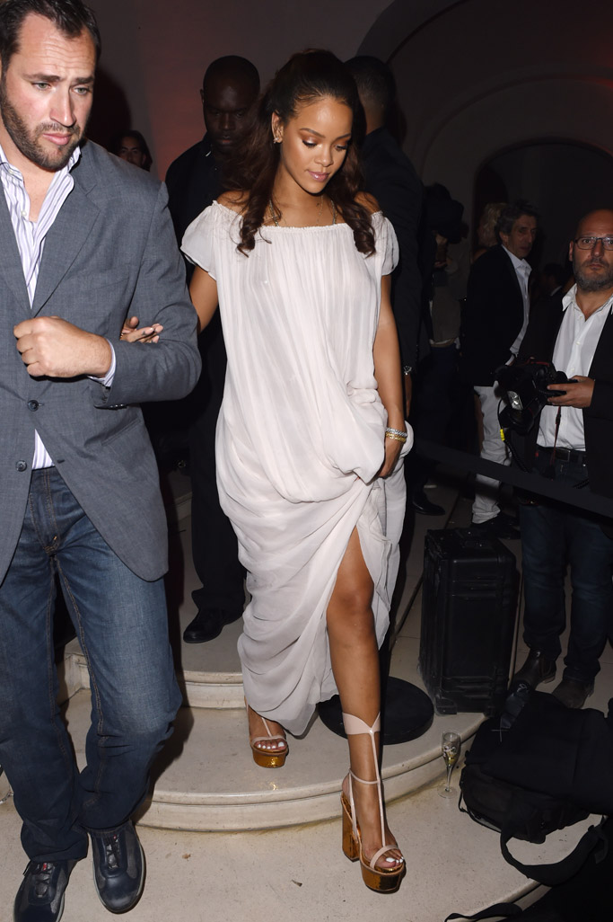 Rihanna Spring 2016 Paris Fashion Week Shoes