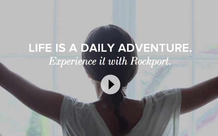Rockport My Daily Adventure Ad Campaign