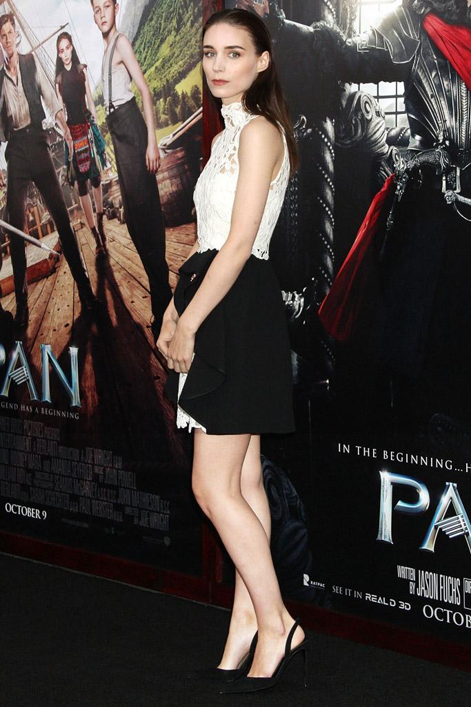 Rooney Mara Pan Movie Premiere