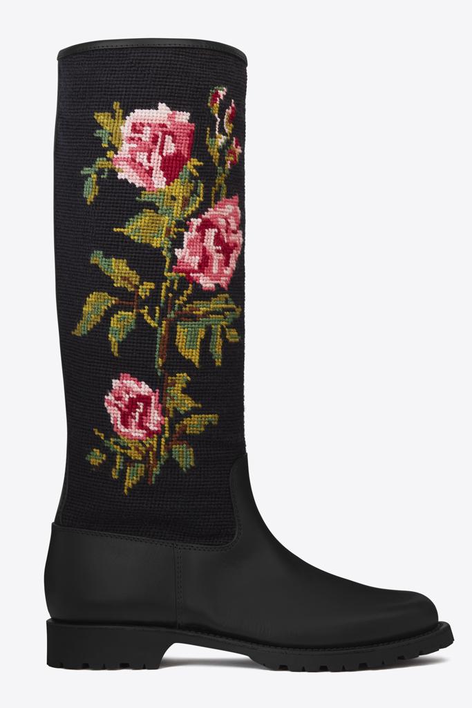 saint laurent spring 2016 rain boot