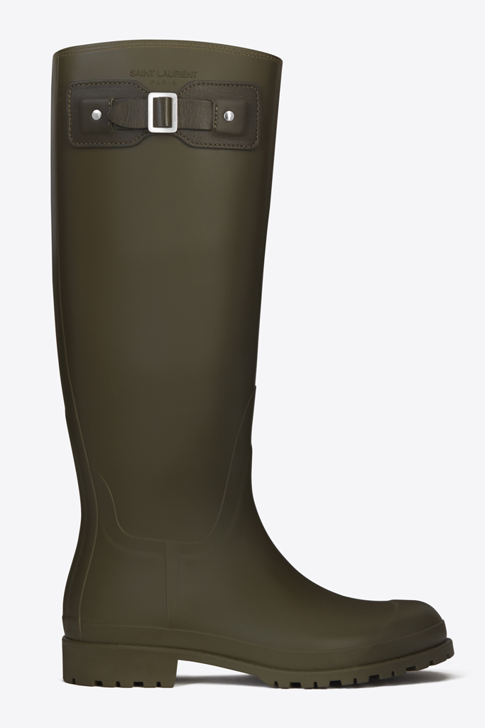 saint laurent spring 2016 rain boot