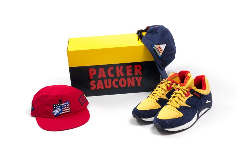 Packer Shoes x Just Blaze x Saucony Grid 9000 Snow Beach