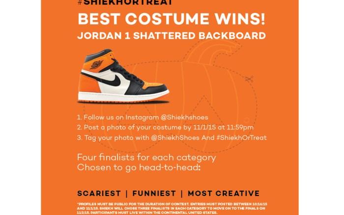 Shiekh Or Treat Air Jordan 1 Shattered Backboard