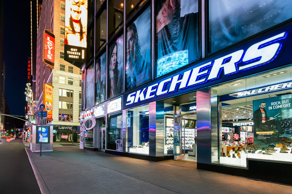 Skechers Store Times Square, NYC