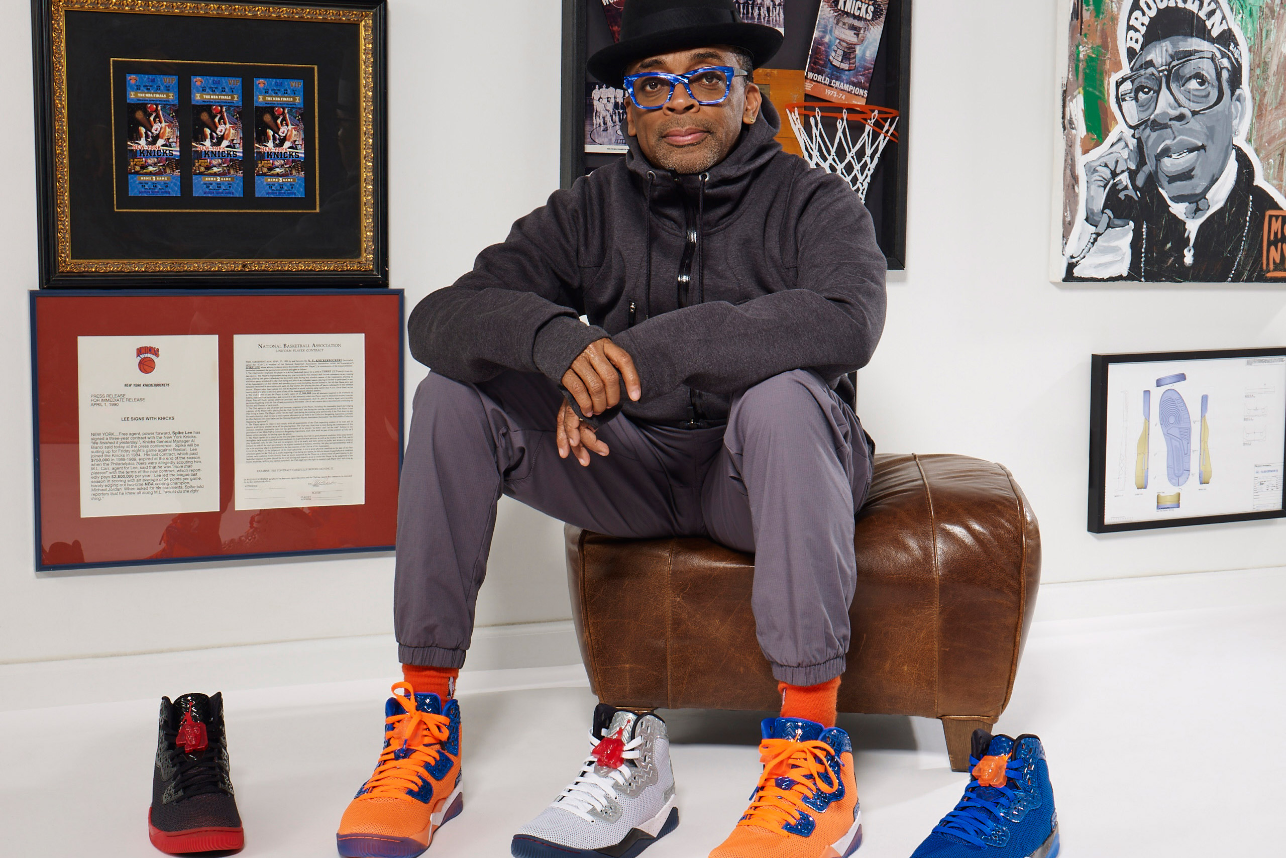 Jordan Brand Debuts Spike Lee's Latest Sneaker Collection [PHOTOS ...