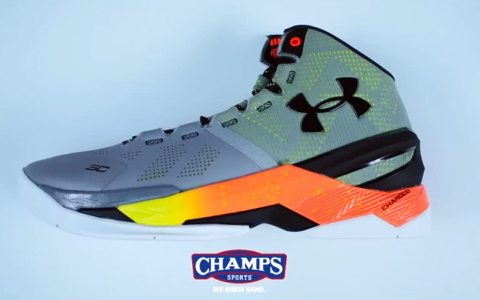 Stephen Curry Under Armour Curry Two Champs Sports