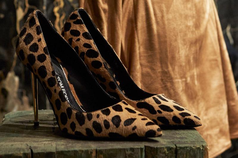 Tom Ford Leopard Print pumps