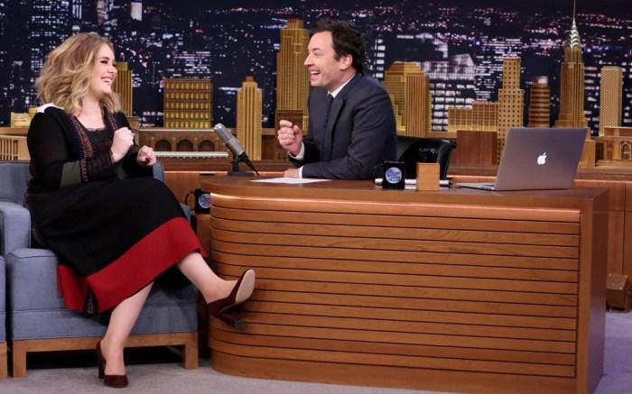 Adele Jimmy Fallon Tonight Show