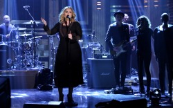 Adele Tonight Show Gianvito Rossi