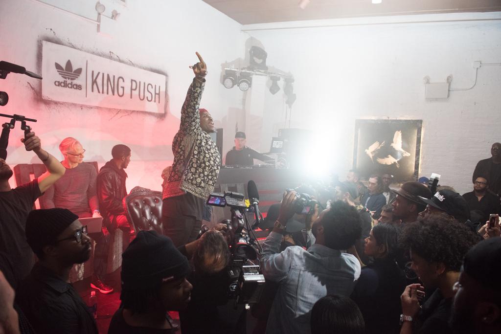 Pusha T Adidas Originals King Push x EQT Running Guidance '93