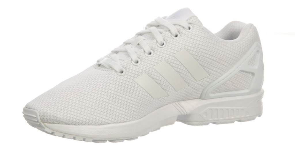 Adidas ZX Flux in white