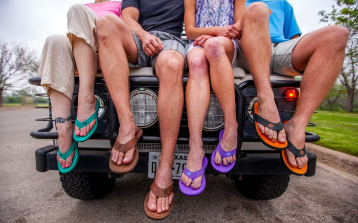 Austin Footwear Labs' flip-flops