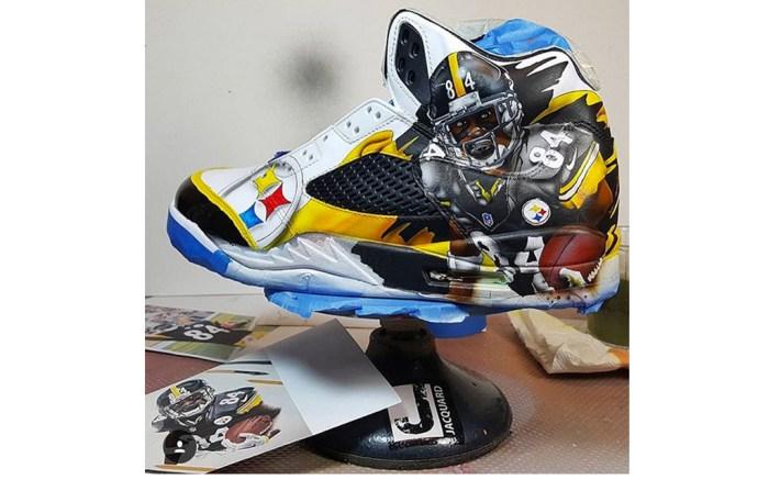 Snoop Dogg's Air Jordan sneakers