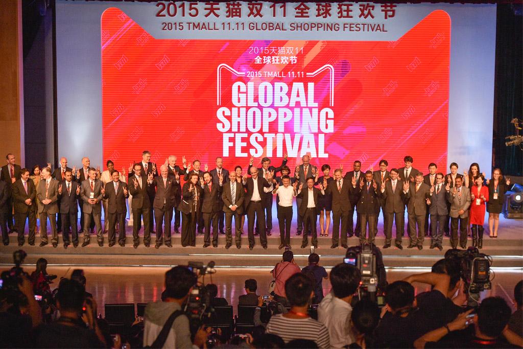 Jack Ma kicks off Singles Day in China
